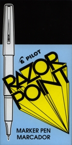 Pilot Razor Point